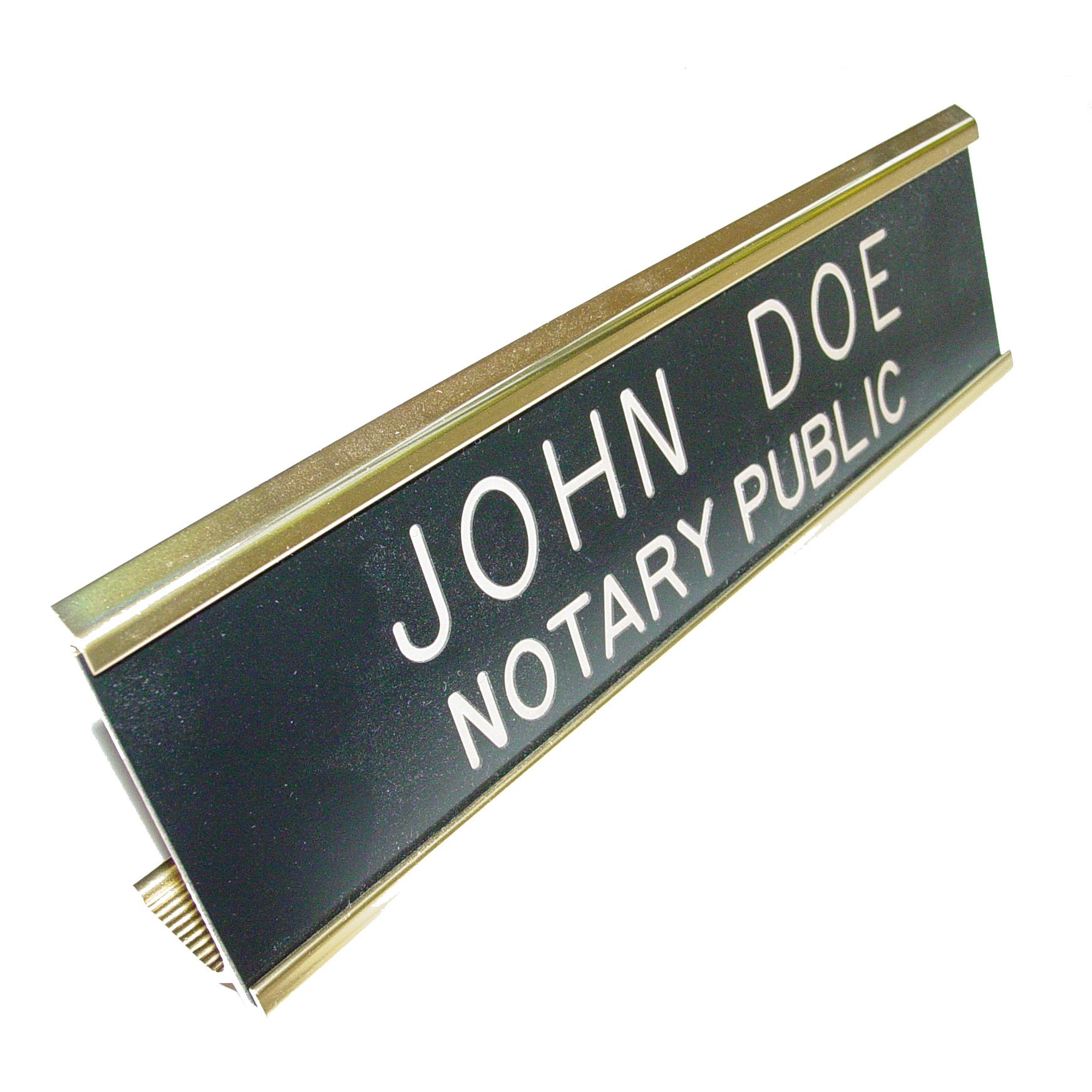 Kansas Notary Desk Sign