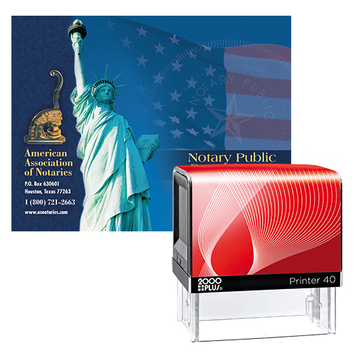 Notary Supplies Value Package (All States) - Includes Microban Anti-microbial Stamp