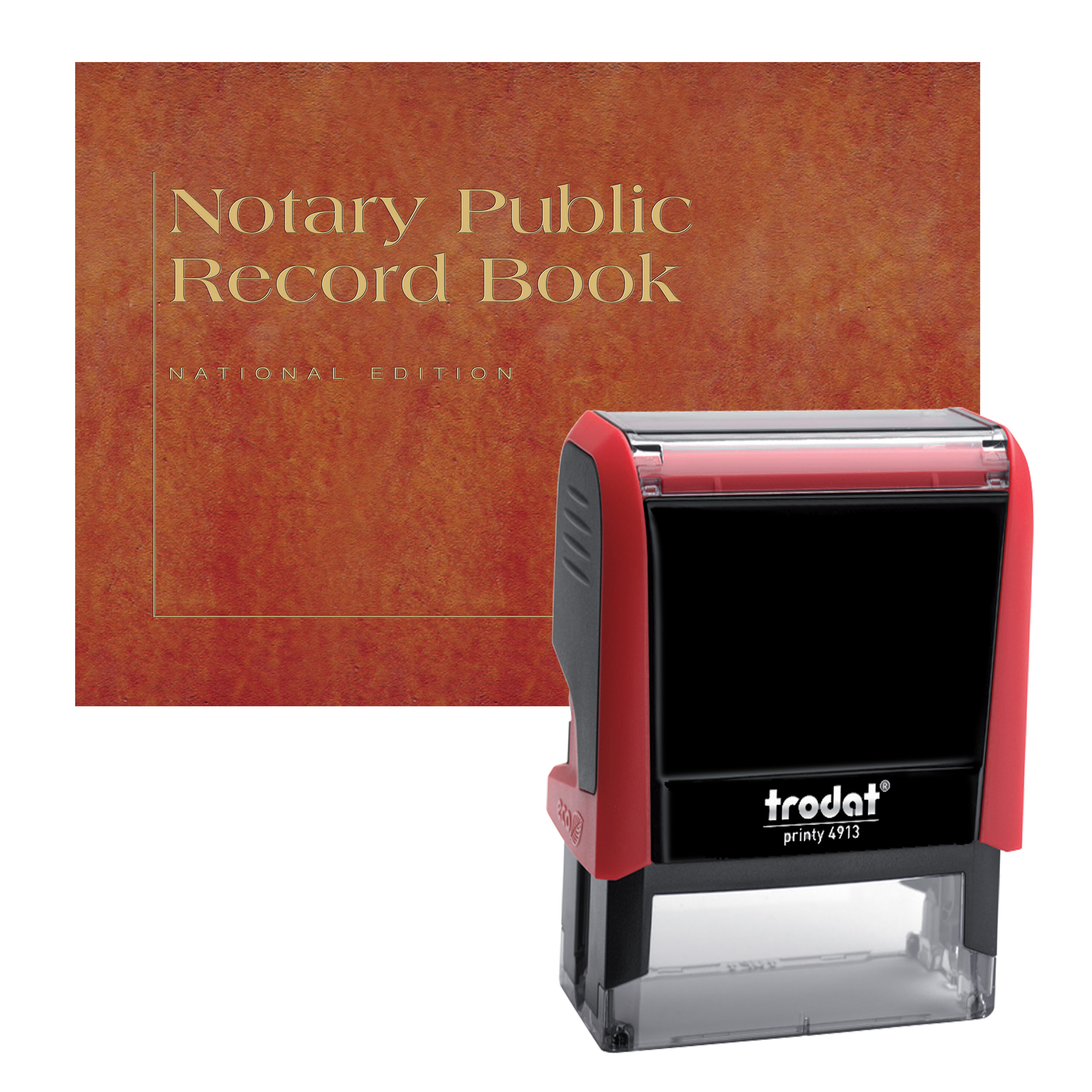 Kansas Notary Supplies Value Package - Includes Trodat P4 Notary Stamp