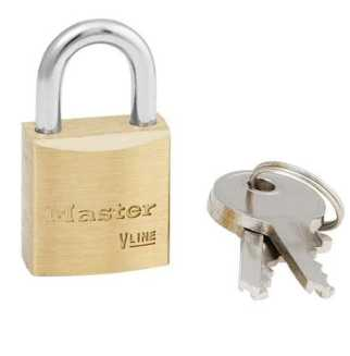 Solid Brass Padlock With Keys