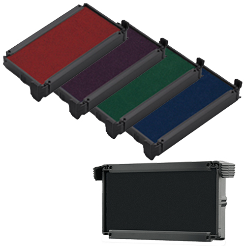 Replacement Ink Pads for Kansas Notary Self-Inking Stamps